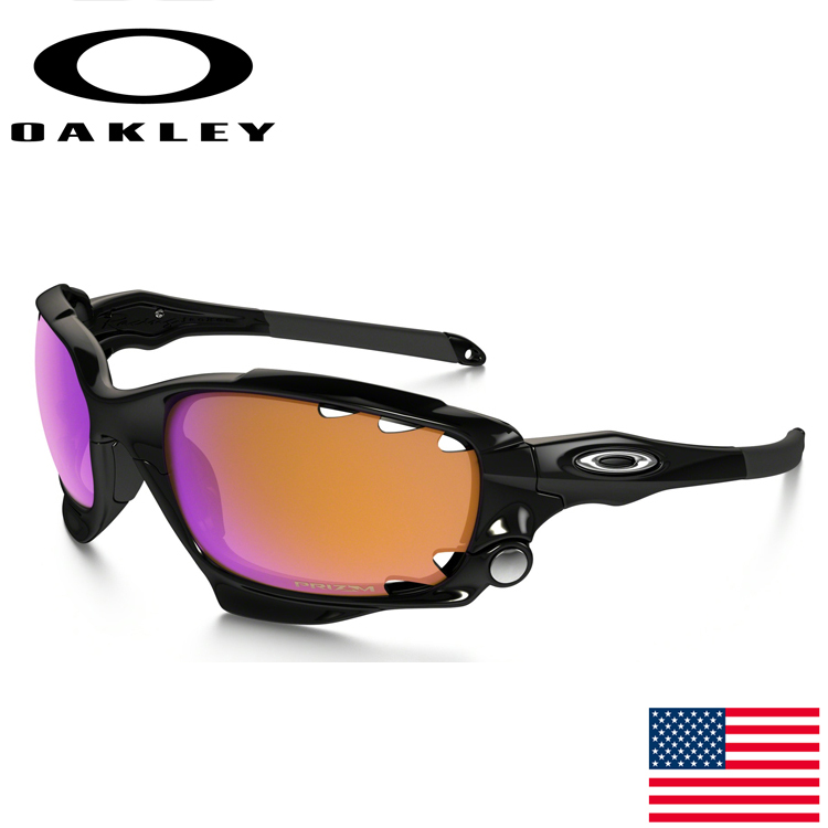 USAモデル オークリー (OAKLEY) サングラス レーシングジャケット RACINGJACKET OO9171-33 【プリズム】【standardフィット】