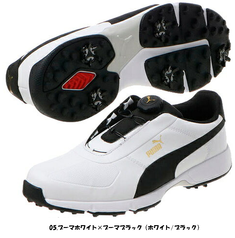 プーマ ゴルフ IGNITE DRIVE DISC イグナイト ドライブ ディスク メンズ ソフトスパイク ゴルフシューズ 189892 PUMA GOLF