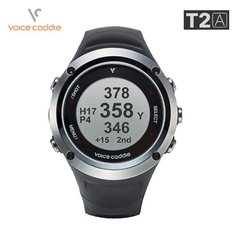 ボイスキャディ T-2A 腕時計タイプ GPSゴルフナビ Voice Caddie T-2A