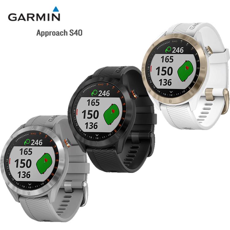 ガーミン Approach S40 アプローチ S40 GPS ゴルフナビ ゴルフ用品 距離測定器 ナビ ウォッチ GARMIN 日本正規品