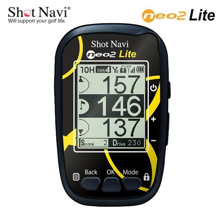即納 ショット ナビ NEO 2 Lite ゴルフナビ shot Navi 【ネオ2】【ライト】【距離計】【GPS】 【ショットナビ】