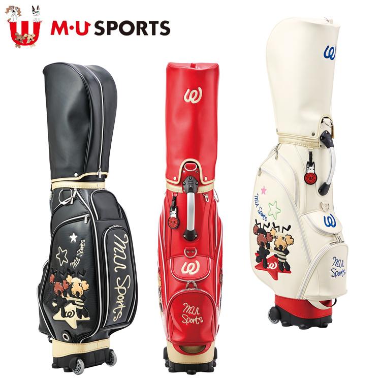 MU SPORTS MU スポーツ キャディバッグ ゴルフバッグ 8.5型 ローリングソール 703C1102 【バッグ】【M・U SPORTS】【MUスポーツ】【エムユー】
