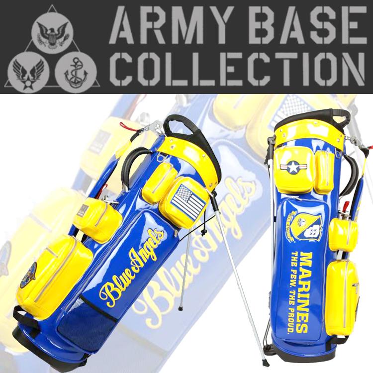 【即納】 アーミーベース コレクション ABC-017SB スタンド キャディバッグ ARMY BASE COLLECTION【アーミーベースコレクション】【キャディバッグ】【限定】