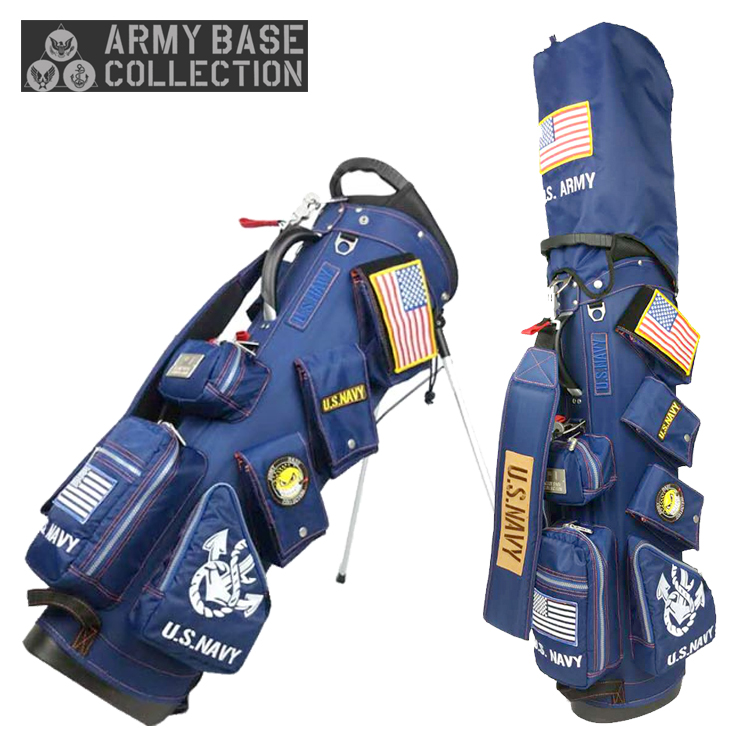 【即納】 アーミーベース コレクション ABC-018SB スタンド キャディバッグ ARMY BASE COLLECTION【アーミーベースコレクション】【キャディバッグ】【限定】