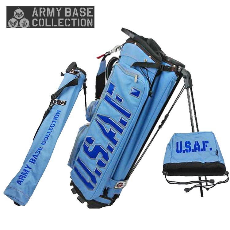 【即納】 アーミーベース コレクション ARMY BASE スタンドバッグ ABC-026SB スタンド キャディバッグ ネイビー ARMY BASE COLLECTION【アーミーベースコレクション】【キャディバッグ】