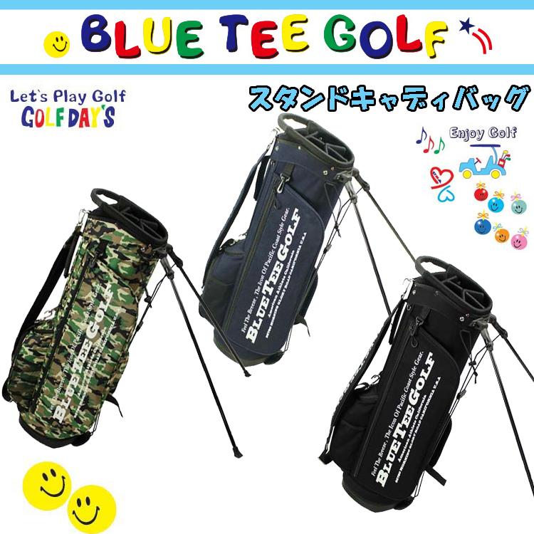 即納 ブルーティーゴルフ キャンバス地 スタンドバッグ 9型 BTG-CB004 【BLUE TEE GOLF】【CB004】【BTG-004】【キャディバッグ】