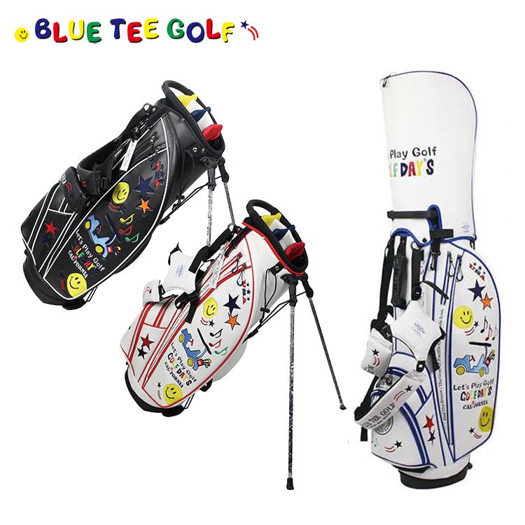 即納 ブルーティーゴルフ スマイル&カート スタンドキャディバッグ スタンドバッグ 9型 BTG-CB008 【BLUE TEE GOLF】【CB008】【BTG-008】【キャディバッグ】
