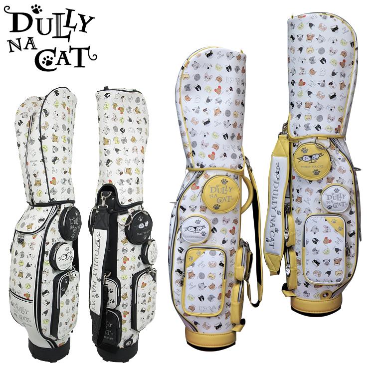 DULLY NA CAT ダリーナキャット キャディバッグ 8.5インチ ゴルフバッグ 【DN-CB02】【キャット】【猫】