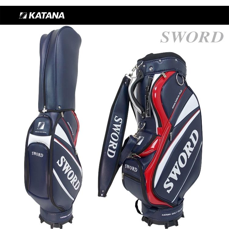 日本正規品 カタナ スウォード キャディバッグ 9型 SWC-28 【KATANA】【SWORD】【SWC28】【カタナゴルフ】