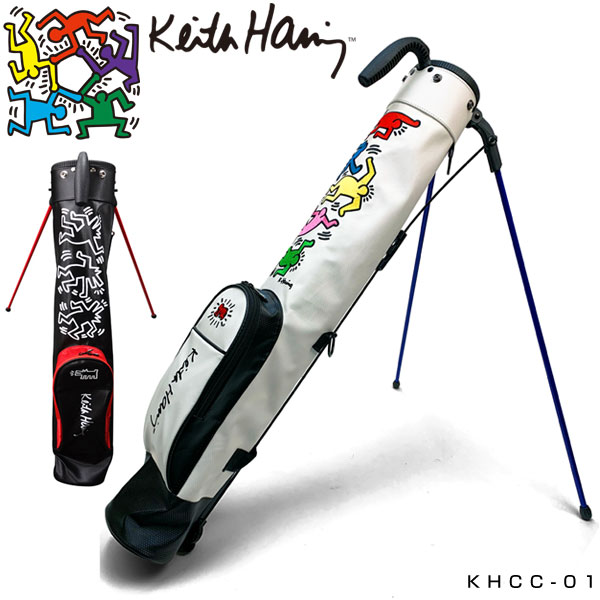キースヘリング ゴルフ スタンドクラブケース Dancing Dogs 5Figs KHCC-01