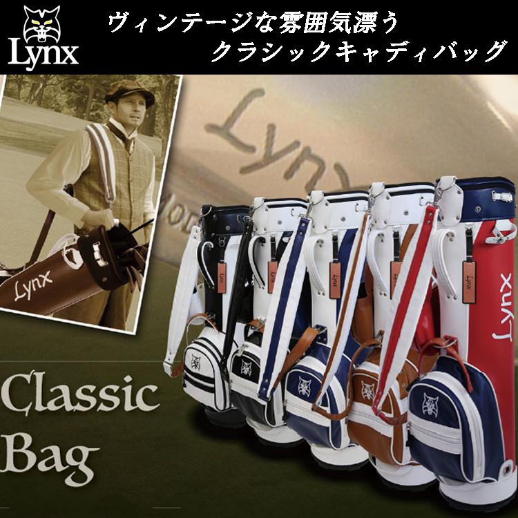 Lynx リンクス クラシック キャディバッグ LXCB-1000 CLASSIC BAG 【LYNX】【LXCB1000】