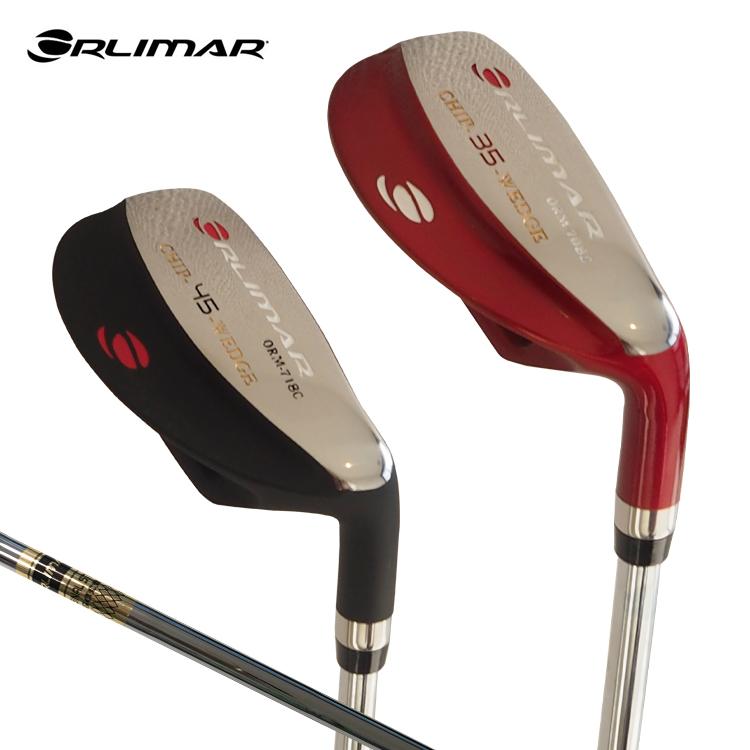 オリマー ゴルフ ORLIMAR チッパー 35度 45度 ブラック仕上げ レッド仕上げ スチールシャフト ORM708C 35度 ORM718C CHIP WEDGE