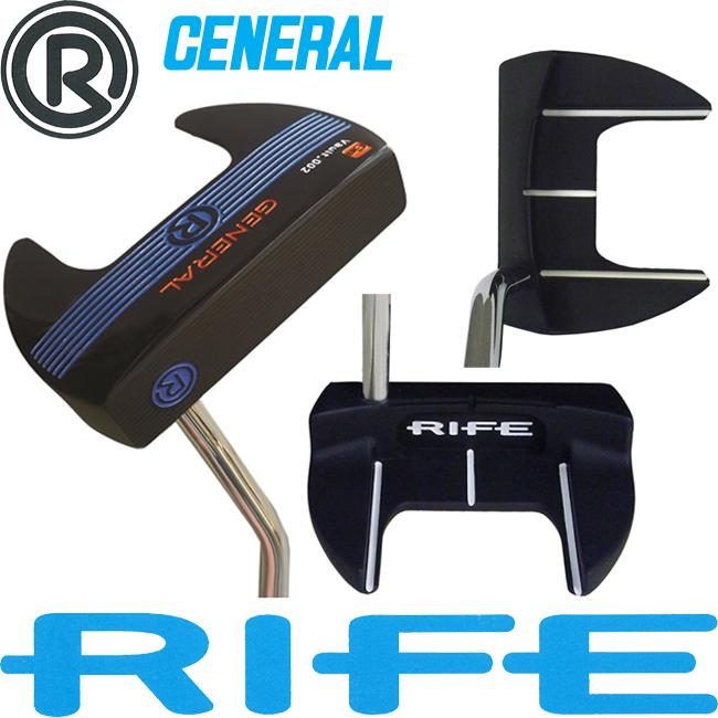 日本正規品 2015年 ライフ ゴルフ ゼネラル パター RIFE GENERAL