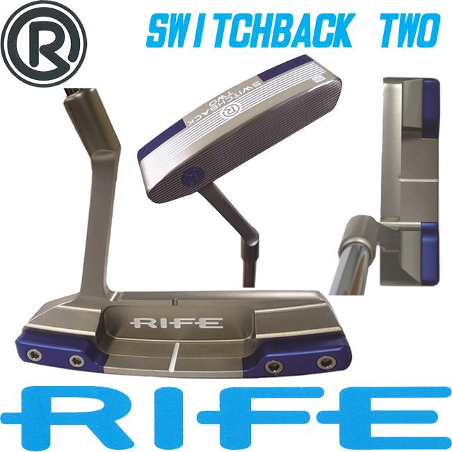 日本正規品 2015年 ライフ ゴルフ スイッチバック 2 パター RIFE SWITCHBACK TWO