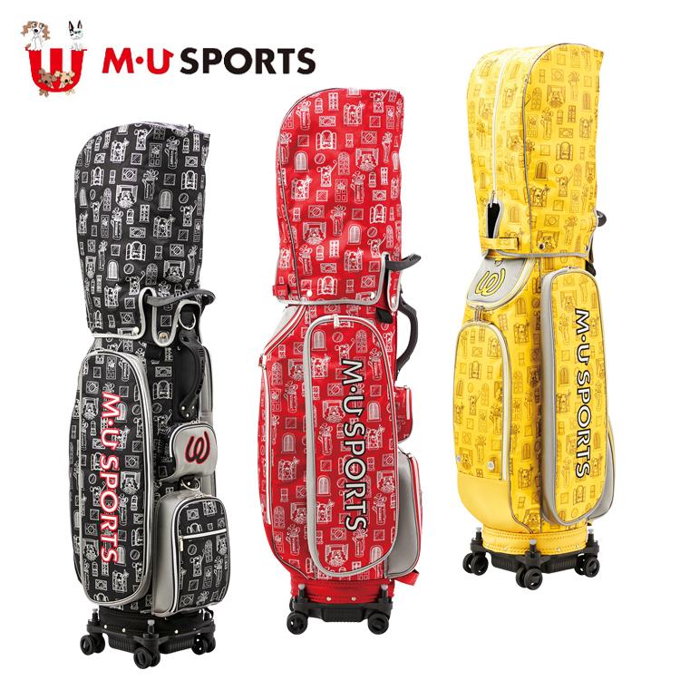 MU SPORTS MU スポーツ キャディバッグ ゴルフバッグ 9.5型 ローリングソール 703C1106 【バッグ】【M・U SPORTS】【MUスポーツ】【エムユー】