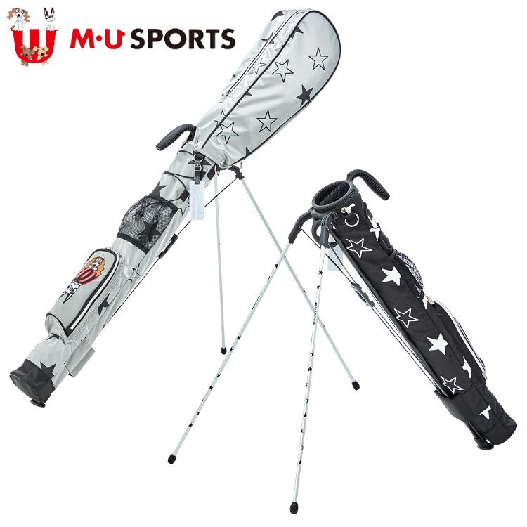 MU SPORTS MU スポーツ セルフスタンドバッグ 703C1406 フード付 クラブバッグ クラブケース 【M・U SPORTS】【MUスポーツ】【エムユー】