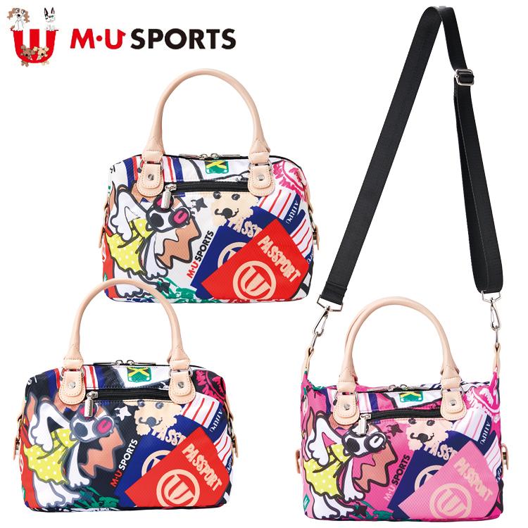 MU SPORTS MU スポーツ ポーチ カートバッグ カートポーチ 703C2000 【ラウンドバッグ】【バッグ】【M・U SPORTS】【MUスポーツ】【エムユー】