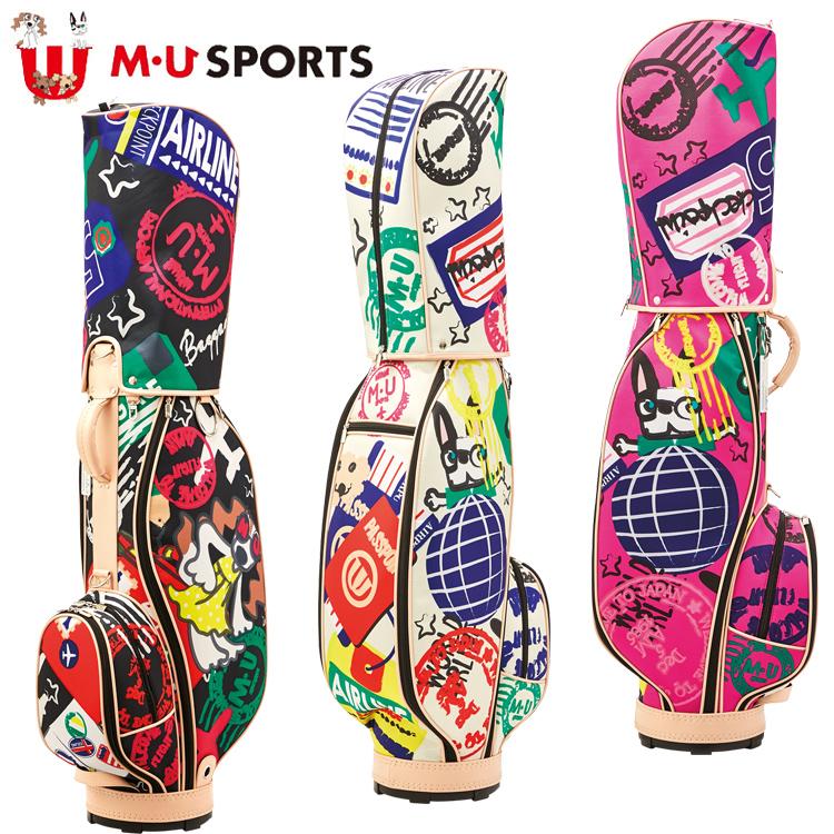 MU SPORTS MU スポーツ キャディバッグ ゴルフバッグ 8.5型 レギュラーソール 703C2100 【バッグ】【M・U SPORTS】【MUスポーツ】【エムユー】