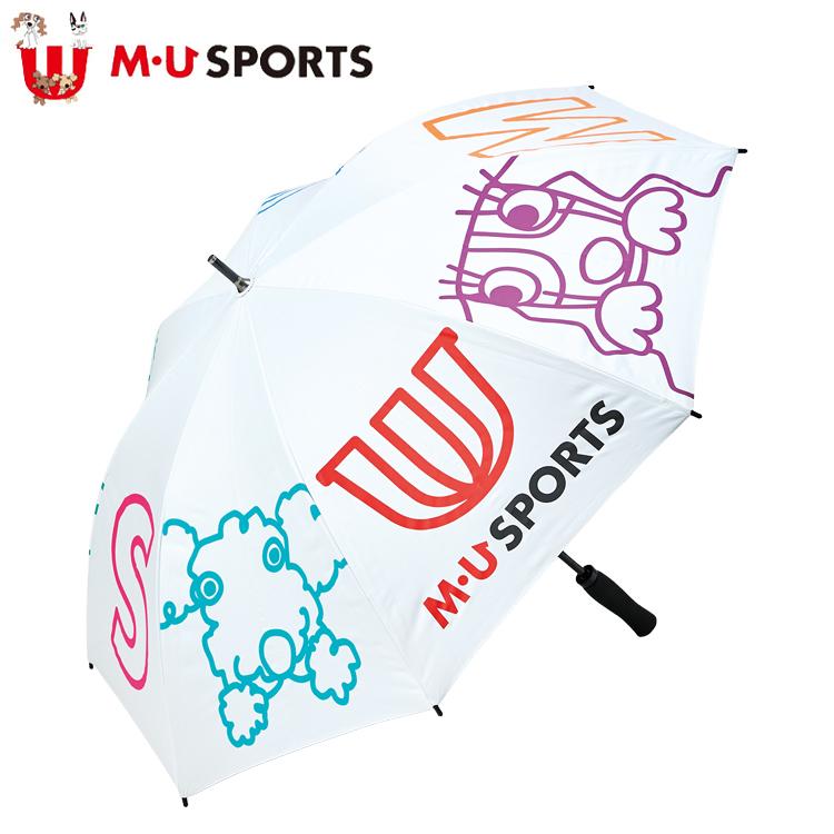 MU SPORTS MUスポーツ 703C2930 晴雨兼用傘 アンブレラ 【レディース】【エムユー】【エムユースポーツ】【パラソル】