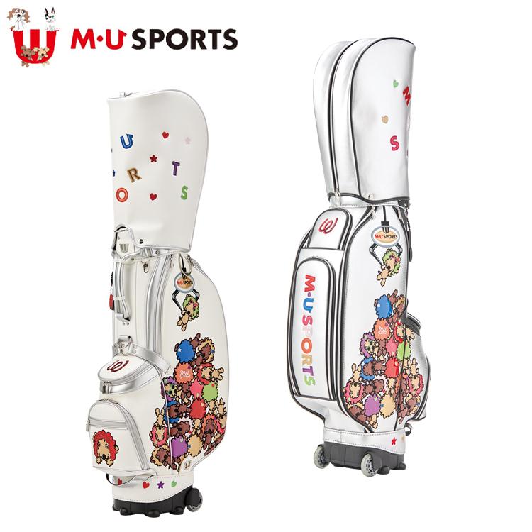 MU SPORTS MU スポーツ キャディバッグ ゴルフバッグ 8.5型 ローリングソール 703P6100 【バッグ】【M・U SPORTS】【MUスポーツ】【エムユー】