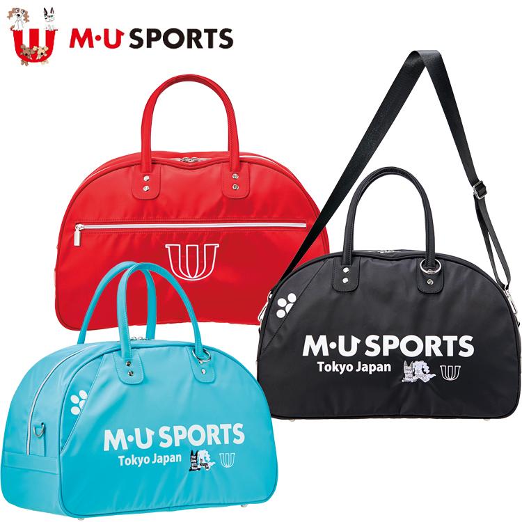 MU SPORTS MU スポーツ ボストンバッグ 703P6204 【ボストン】【バッグ】【M・U SPORTS】【MUスポーツ】【エムユー】