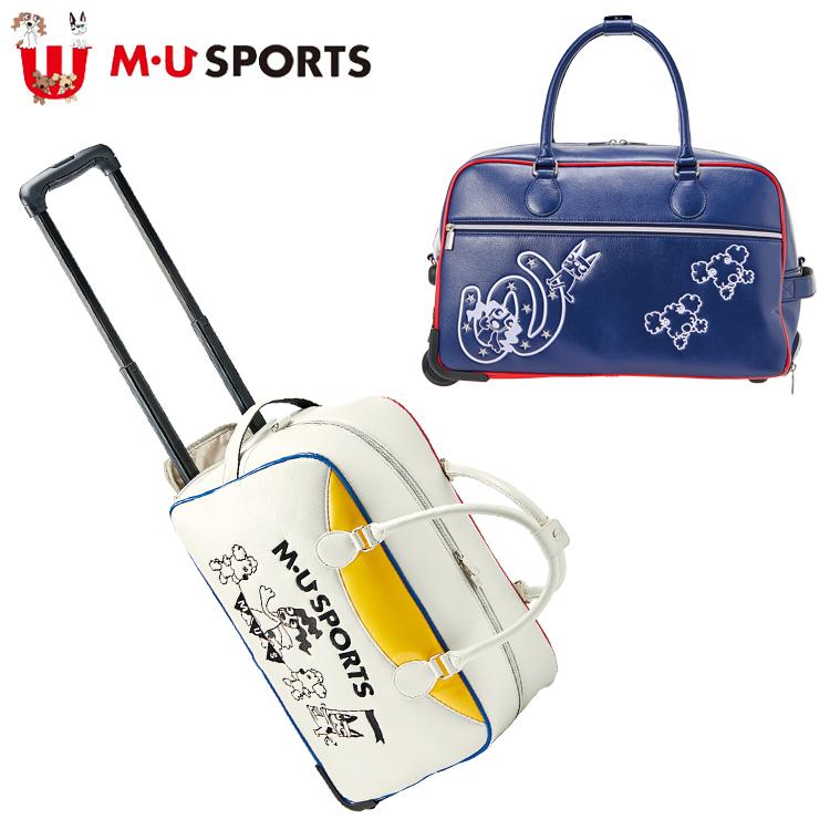 MU SPORTS MU スポーツ キャスター付き ボストンバッグ 703P6206 【キャリー】【バッグ】【M・U SPORTS】【MUスポーツ】【エムユー】