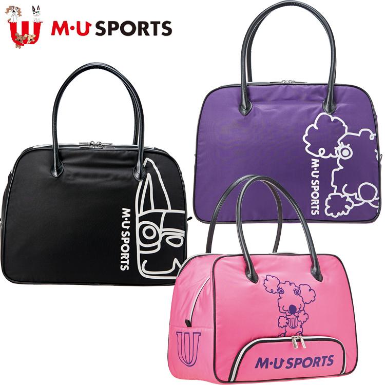 MU SPORTS MU スポーツ ボストンバッグ 703P6208 【ボストン】【バッグ】【M・U SPORTS】【MUスポーツ】【エムユー】