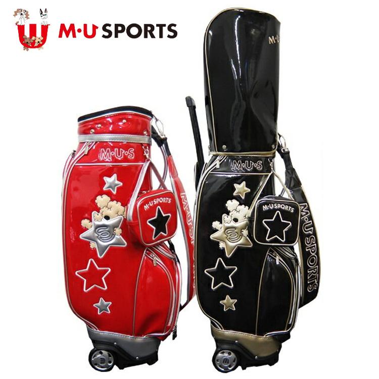 MU SPORTS MU スポーツ キャディバッグ ゴルフバッグ 8.5型 ローリングソール 703P7150 別注 限定モデル【バッグ】【M・U SPORTS】【MUスポーツ】【エムユー】