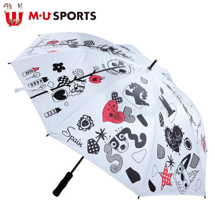 MU SPORTS MUスポーツ 703V2930 晴雨兼用傘 アンブレラ 【レディース】【エムユー】【エムユースポーツ】【パラソル】