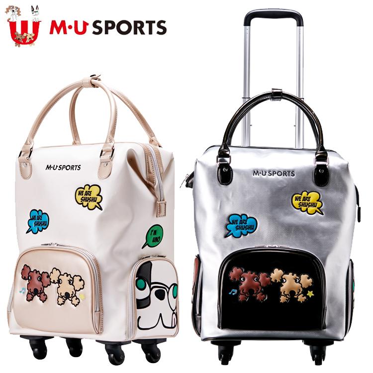 MU SPORTS MUスポーツ 703W6212 レディース キャリーケース 【キャスター】【ローリング】【M・U SPORTS】【MUスポーツ】【エムユー】