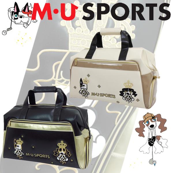 MU SPORTS MUスポーツ 703R7200S レディース ボストンバッグ 【ボストン】【バック】【クラウン】 【エムユー】