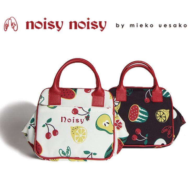 日本正規品 ノイジーノイジー ミエコ ウエサコ noisy noisy by mieko uesako NOISY 9937 レディース ゴルフ ポーチ【オリジナルフルーツ柄】【フルーツ】