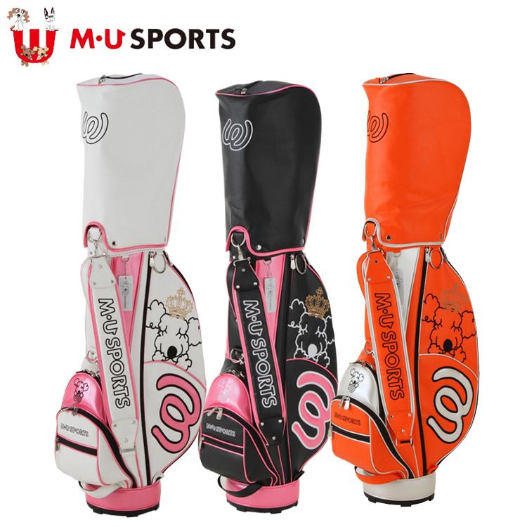 日本正規品 MU SPORTS MUスポーツ 703V4900 レディース ゴルフバック 8.5インチ, all blue. a95b58fb