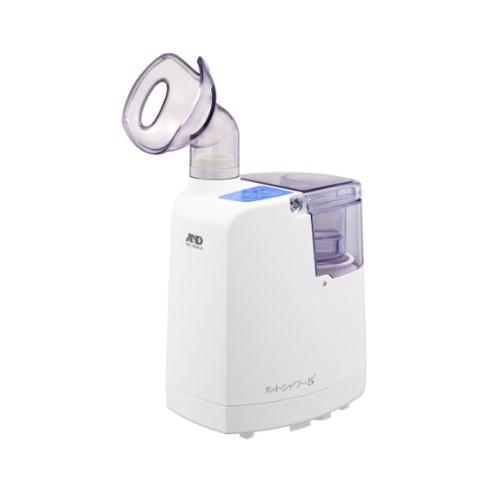【送料無料】 医療機器 超音波温熱吸入器 ホットシャワー5 W111×H188×D286mm エー・アンド・デイ