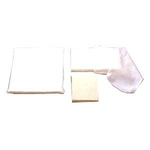 【送料無料】 医療用褥瘡(床ずれ)予防用フローテーションパッド ボンマット 綿パイルカバー2枚付 2号 重量2.3kg1枚入 11702 アルケア