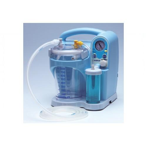 【送料無料】 医療機器 吸引器 スマイルケアC W223×D226×H272mm KS-1000C 新鋭工業
