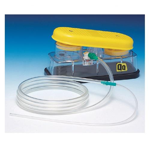 【送料無料】 医療機器 足踏式吸引器 QQ W230XD98XH115mm KFS-400 新鋭工業