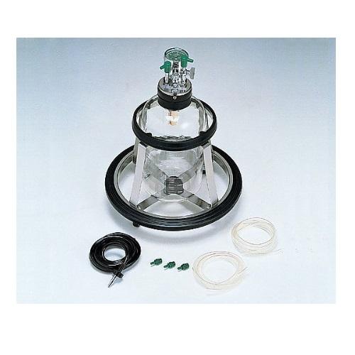 【送料無料】 医療機器 キック式吸引器 S型 アムコ型 W395×D395×H480mm V-5000 新鋭工業