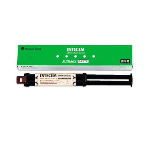 医療機器 エステセム オートミックス ペースト ブラウン ペーストA/B各2.3mL(4.7g) トクヤマデンタル