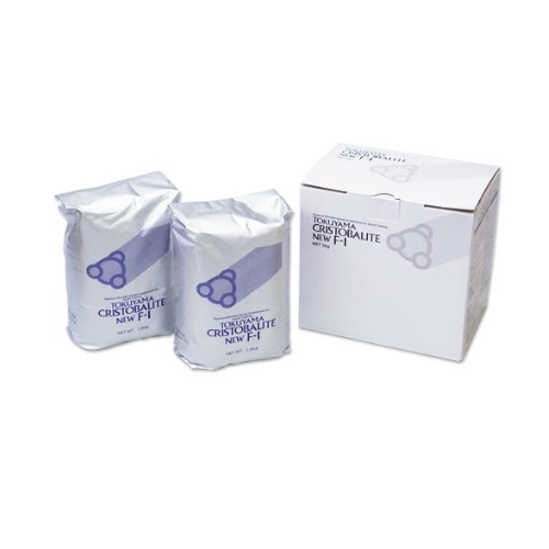 【送料無料】 医療機器 トクヤマ クリストバライト ニューF-1 缶 15kg トクヤマデンタル