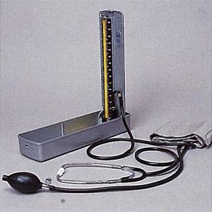 【送料無料】 水銀血圧計 聴診器付