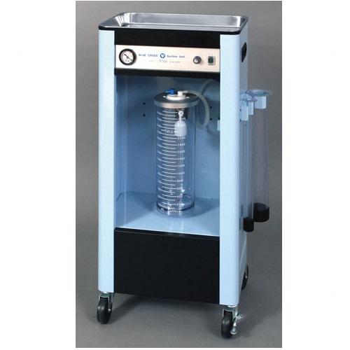 【送料無料】 医療機器 エマジン 大型吸引器 スリム ベーシック 40×28×90cm SLM-3000 ブルークロス