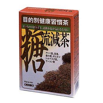 まとめ買い10セット 目的別健康習慣茶 糖流減茶 3g×30包 オリヒロ