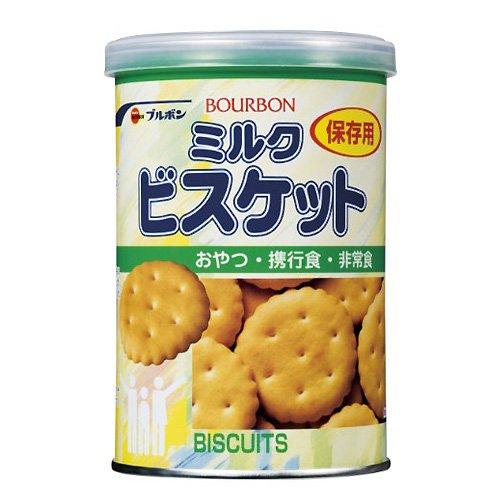 【送料無料】 まとめ買い3ケースセット ミルクビスケット 75g×72缶/ケース ブルボン