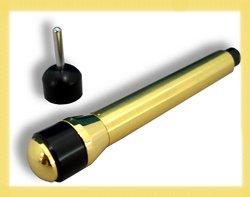 【送料無料】 医療機器 みずほ電子鍼 純金メッキA型 長さ130×直径18mm 約70g 瑞穂工業