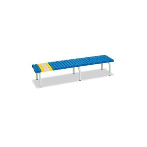 【送料無料】 ホームベンチ 青 W1801×D400×H365mm BC-302-018-3 テラモト