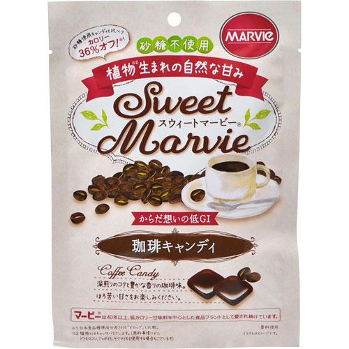 【送料無料】 40個まとめ買い マービー珈琲キャンディ48g HプラスBライフサイエンス