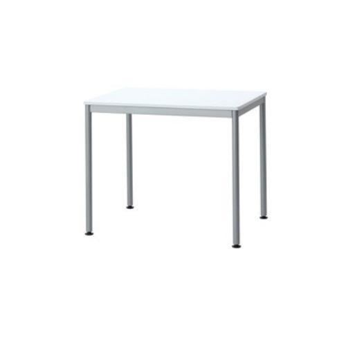 【送料無料】 ユニットテーブル ホワイト W800×D600×H700mm HEM-8060W ナカバヤシ