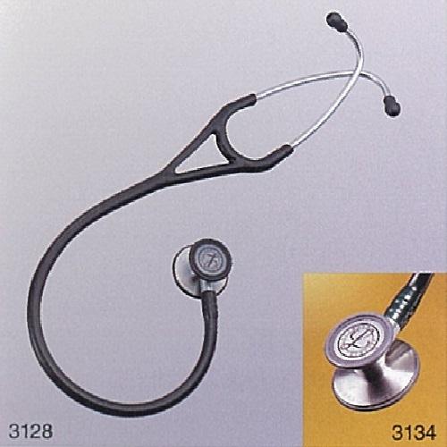 【送料無料】 医療機器 リットマン ステソスコープ カーディオロジー III スモークエディション ダークオリーブグリーン 約68cm ダイアフラム部 直径 成人用47mm 小児用37mm 約180g 3166 3M
