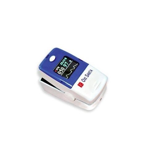 【送料無料】 医療機器 オキシサンタ フィンガーティップパルスオキシメータ 58(L)×32(W)×34(H)mm 50g(電池含む) KOM720CP コーケンメディカル